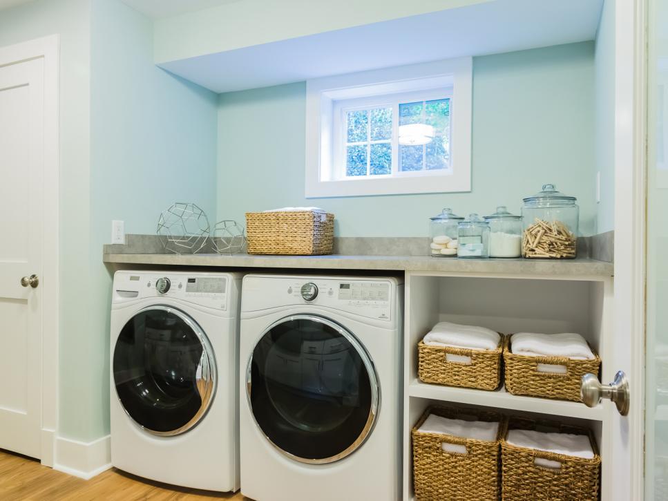 basement laundry room oakland
