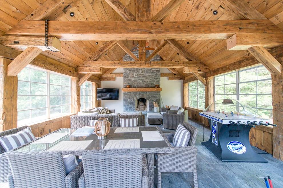 country sun room design oakland