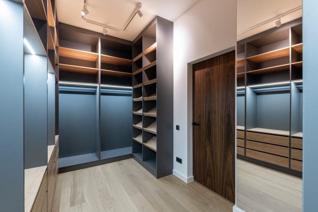 modern closet designs oakland