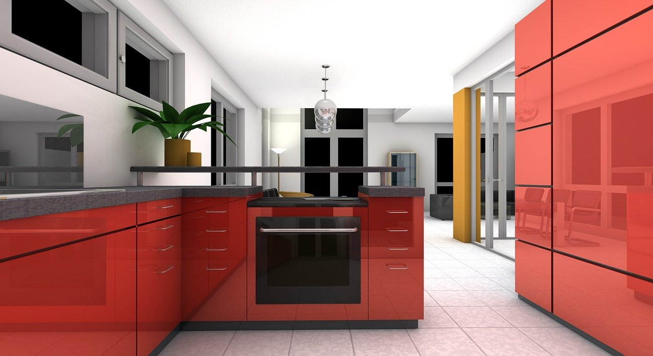 clean and modern kitchen in Bay Area